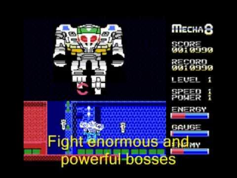 Retrogaming: Mecha Eight arcade game