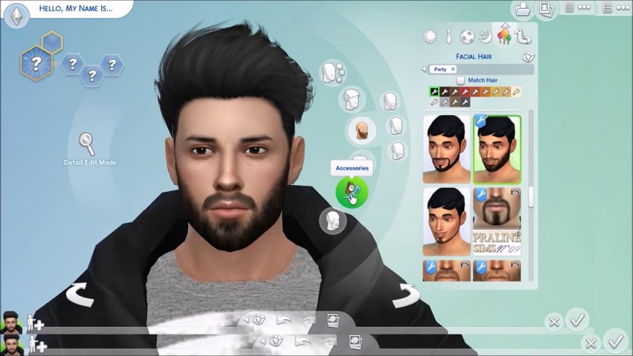 The sims 4 hair accessories - The Sims 4 Create A Sim Bodybuilder