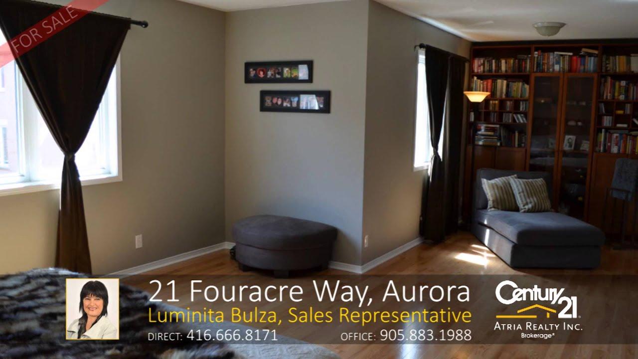 21 Fouracre Way, Aurora Home For Sale By Luminita Bulza, Sales  Representative