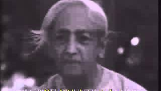 J. Krishnamurti on Thought, Space and Attention (Extract from 6th Talk, Madras 1979)