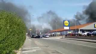 Fire In Abbey Wood (april 2015), Thistlebrook Industrial Estate