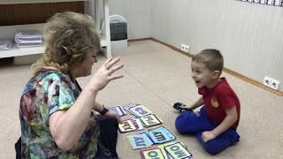 Раннее обучение. Методики ЗАЙЦЕВА (Глеб, 4 года)