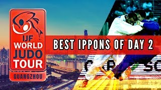 Best ippons in day 2 of World Judo Masters Guangzhou 2018