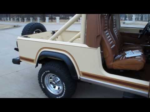 1982 Jeep Scrambler, Survivor, all original, 42,000 miles, Utah rust free SOLD