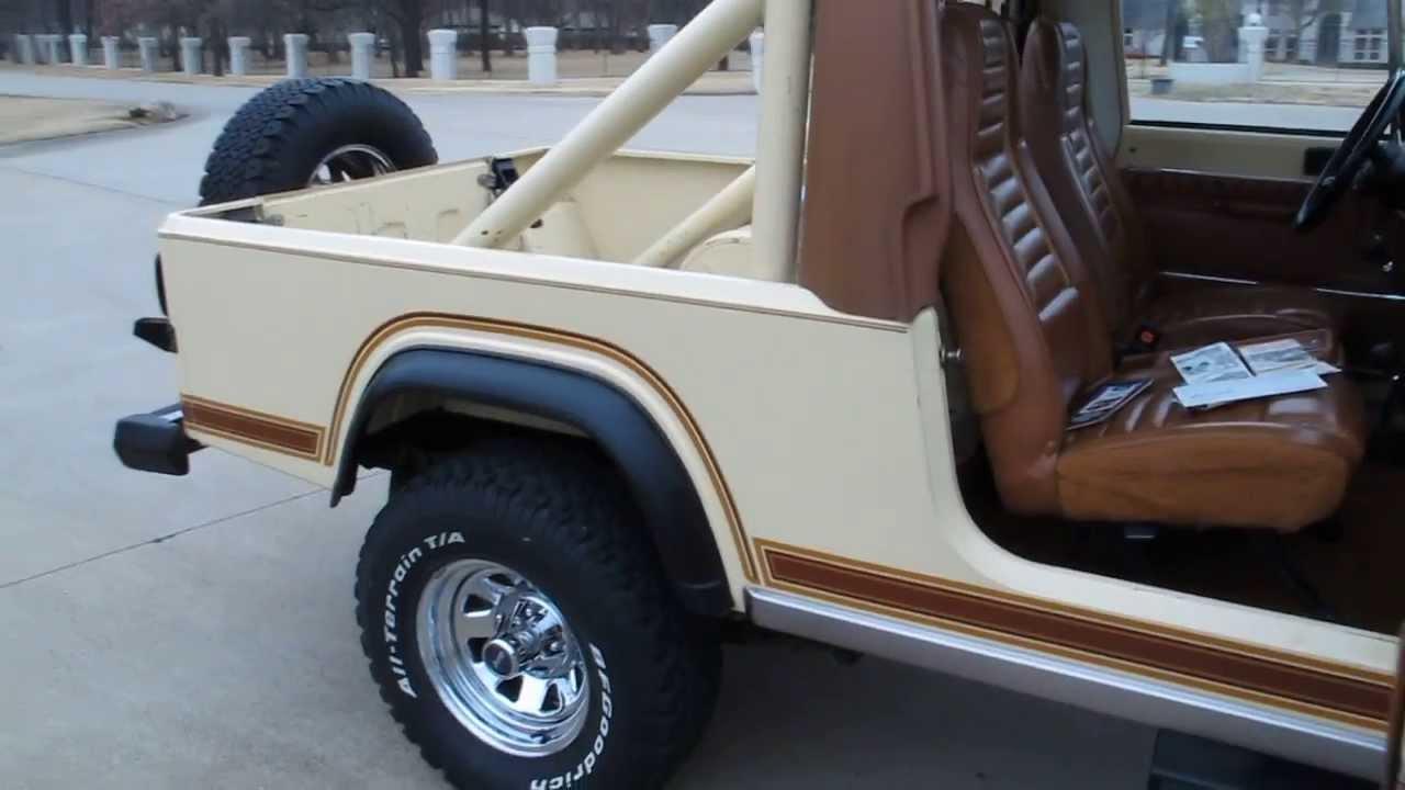 1982 Jeep Scrambler Survivor All Original 42 000 Miles Utah Rust Free Sold