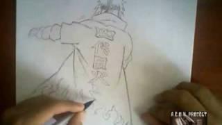Drawing Minato Namikaze (Yondaime Hokage)