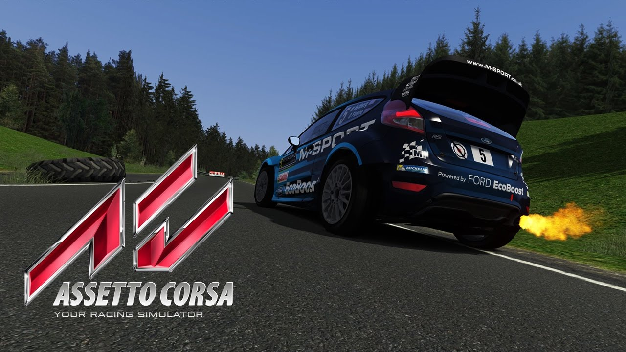 Assetto Corsa - Rally Legends Mod - SS Hradek 1 - Ford Fiesta WRC