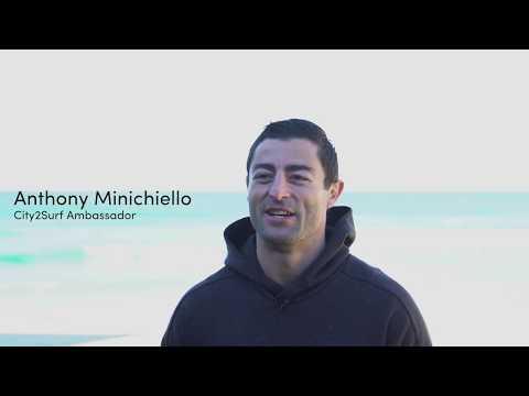 City2Surf 2017 | Run with Anthony Minichiello