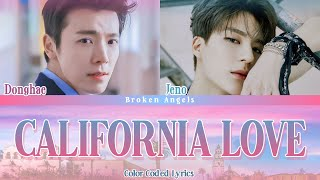 Download Donghae (동해) ft Jeno (제노) - California Love [Color Coded Lyrics] Sub Han/Rom/Eng/Indo