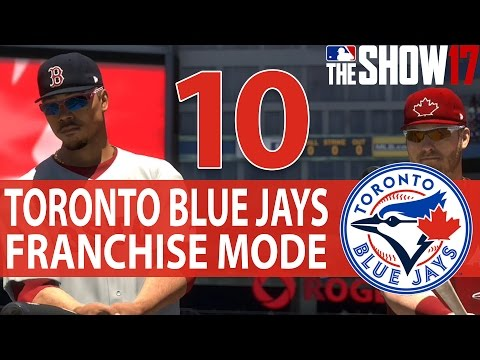 RED JERSEY CANADA DAY SPECIAL | MLB 17 The Show Toronto Blue Jays Franchise Mode Ep 10
