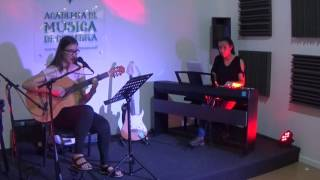 Beatriz Morgado Guitarra E Margarida Biscaia Piano Prof Ricardo Costa Dad Neele Ternes JUN 2017