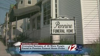 45 cremated remains, 9 bodies connected to Pennine Funeral Home