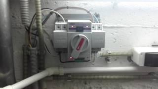 Технический подвал. PowerWare 9120, аккумуляторы, балансиры, Champion 7700GG, Размах 6000