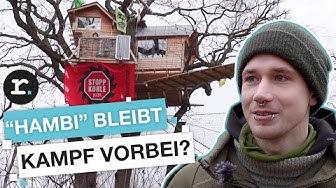 Hambacher Forst bleibt: Endet die Besetzung mit dem Kohlekompromiss? | reporter
