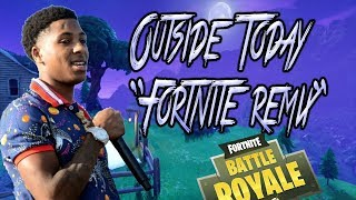 "Youngboy Never Broke Again-Outside Today ""Fortnite Remix"""