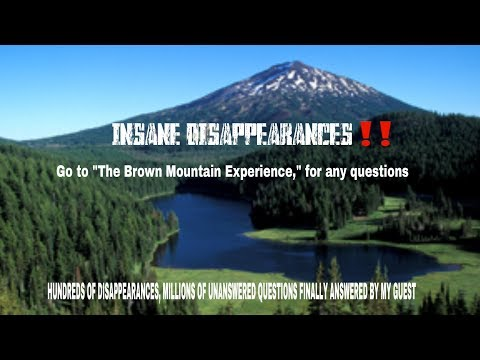 INSANE DISAPPEARANCES‼️                       Anonymous Interview with a National Park survivor