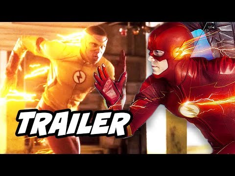 The Flash Wally West Legends Of Tomorrow Scene and New Show Reaction