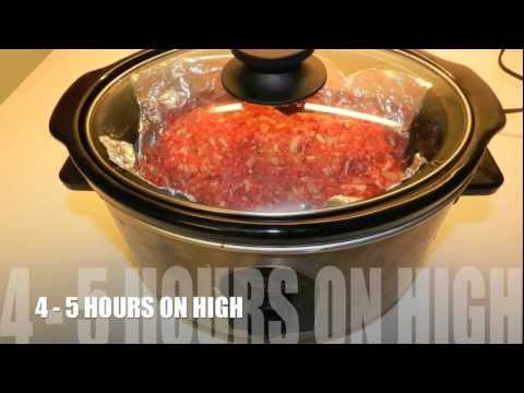 Crock-Pot Mexican Meat Loaf Recipe