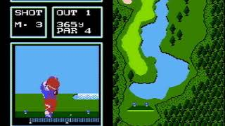 Golf Japan Course - Nintendo Famicom - Archive Gameplay 🎮