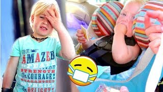 More Road Trip Disaster | Baby Vomit | What We Didn't Show you