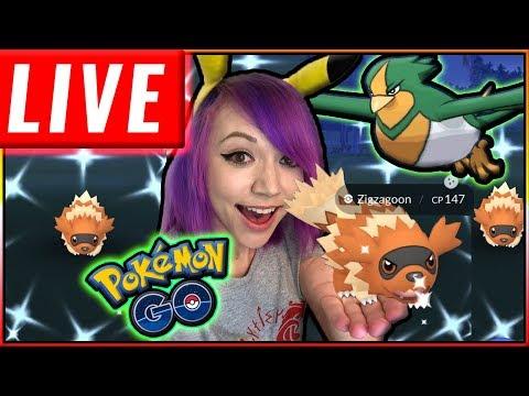 LIVE: SHINY HUNT HOENN EVENT Pokémon GO! thumbnail