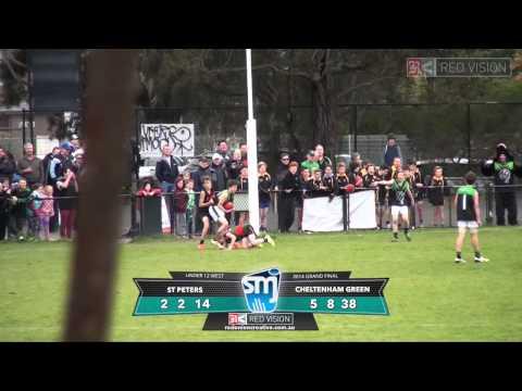 SMJFL 2014 Under 12 West St Peters v Cheltenham