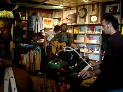 Neil Halstead -- Who Do You Love [6/15] LIVE at Mollusk Surf Shop, Venice Beach CA 5-8-2012