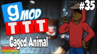 GMod: Trouble In Terrorist Town | Caged Animal | Part.35