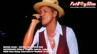 BRUNO MARS - WHEN I WAS YOUR MAN Live in Jakarta, Indonesia 2014