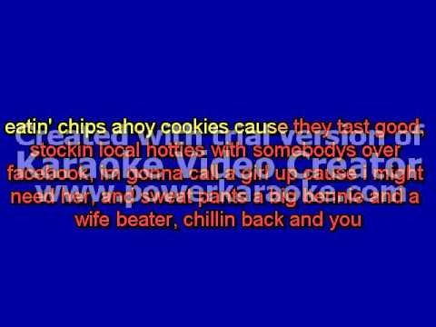 The Lazy Song - D-Pryde Karaoke sing along
