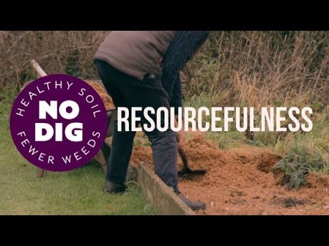 Converting wastes to grow food, reducing waste in the garden