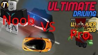 Ultimate Driving Noob VS Pro (Roblox)