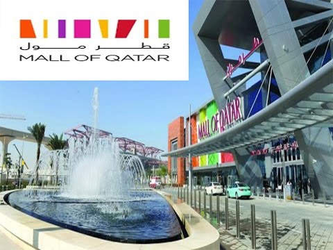 Visiting Mall Of Qatar