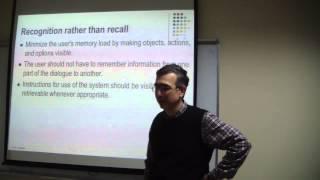 CSE 763 - Human Computer Interaction - Lecture 9 - Mehmet Göktürk