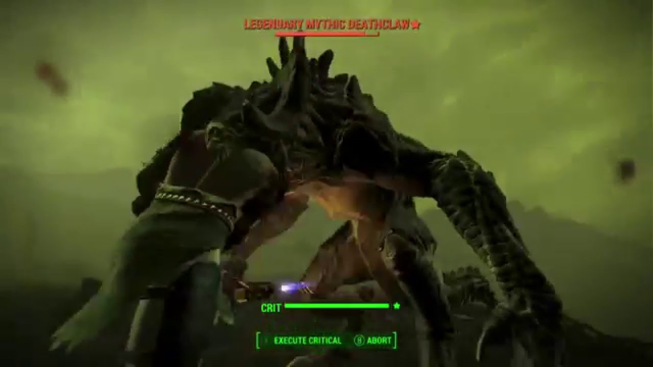 Legendary Deathclaw [Fallout 4] Legendary ...