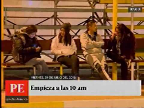 América Noticias Primera Edición 29/07/16 Titulares