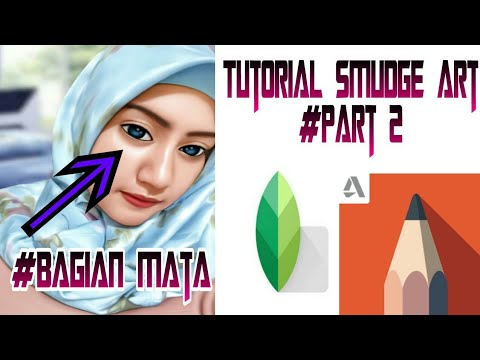 Tutorial Smudge Art Di Android Part II || Bagian Mata thumbnail