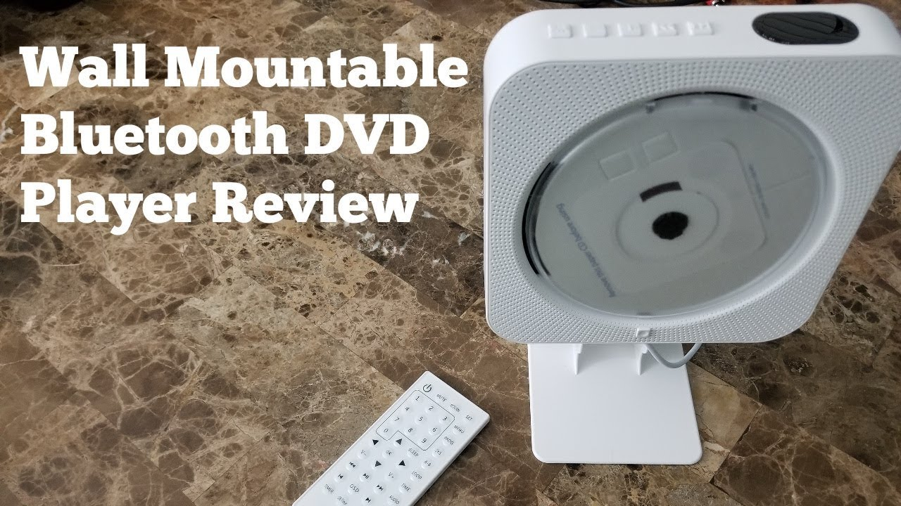 Wall Mountable Bluetooth DVD Player Review   YouTube