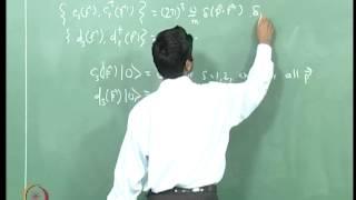 Mod-03 Lec-21 Fermion Quantization V