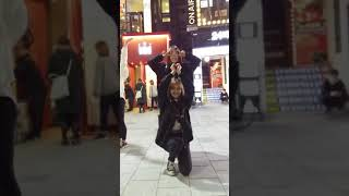 2018.3.20&걷고싶은거리&홍대&찰리두마리치킨앞&버스킹&댄스팀&Diem(화진)&by큰별