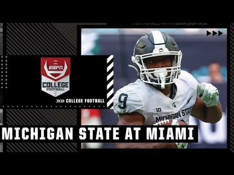Michigan State Spartans at Miami Hurricanes | Full Game Highlights