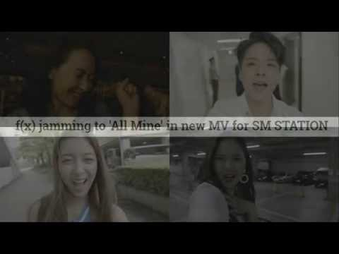 160722 fx jamming to 'All Mine' in new MV for SM STATION