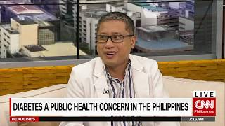 Diabetes a public health concern in the Philippines