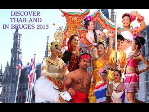 Discover Thailand in Bruges 2013 part 2