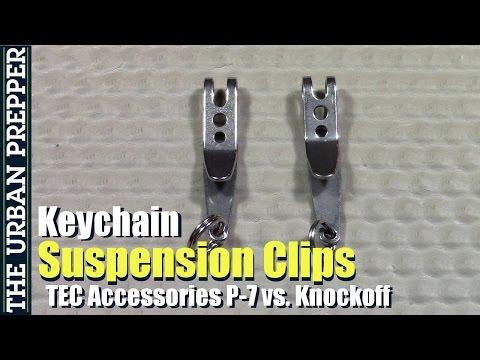 Keychain Suspension Clips: TEC Accessories vs. Knockoff