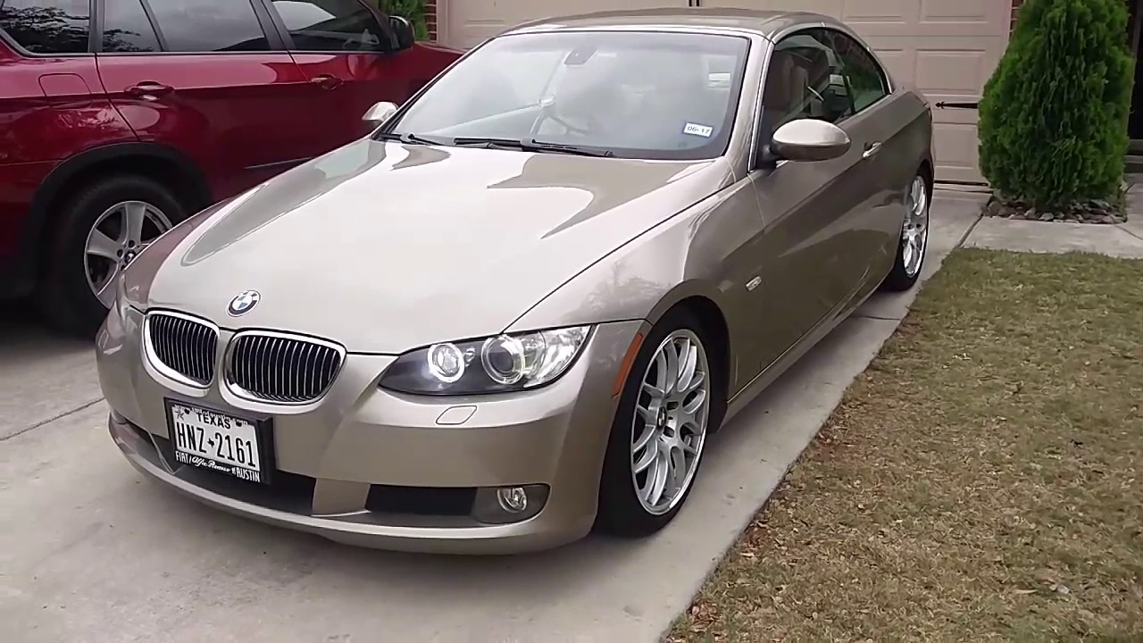 Bmw 2007 328i E90 93 Convertible Review 1 Year Later