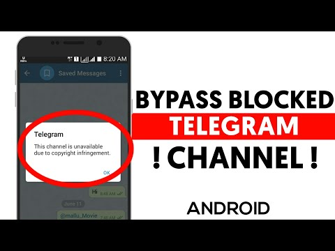 How to Fix Telegram Blocked Channels Android | Bypass Telegram Android blocked Channel Fix from YouTube · Duration:  3 minutes 11 seconds