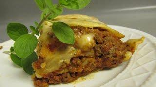 Real Italian Lasagna recipe