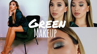 🐍 Get ready with me (& singing Sophie ) | Green Smokey Eyes + Outfit -Adorable Caro