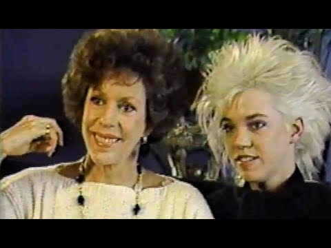 Entertainment Tonight - Carol Burnett and Carrie Hamilton  (1987)
